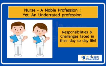 Nurse- a noble profession
