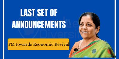 Finance minister announces last set reforms