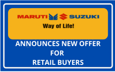 MARUTI SUZUKI OFFER