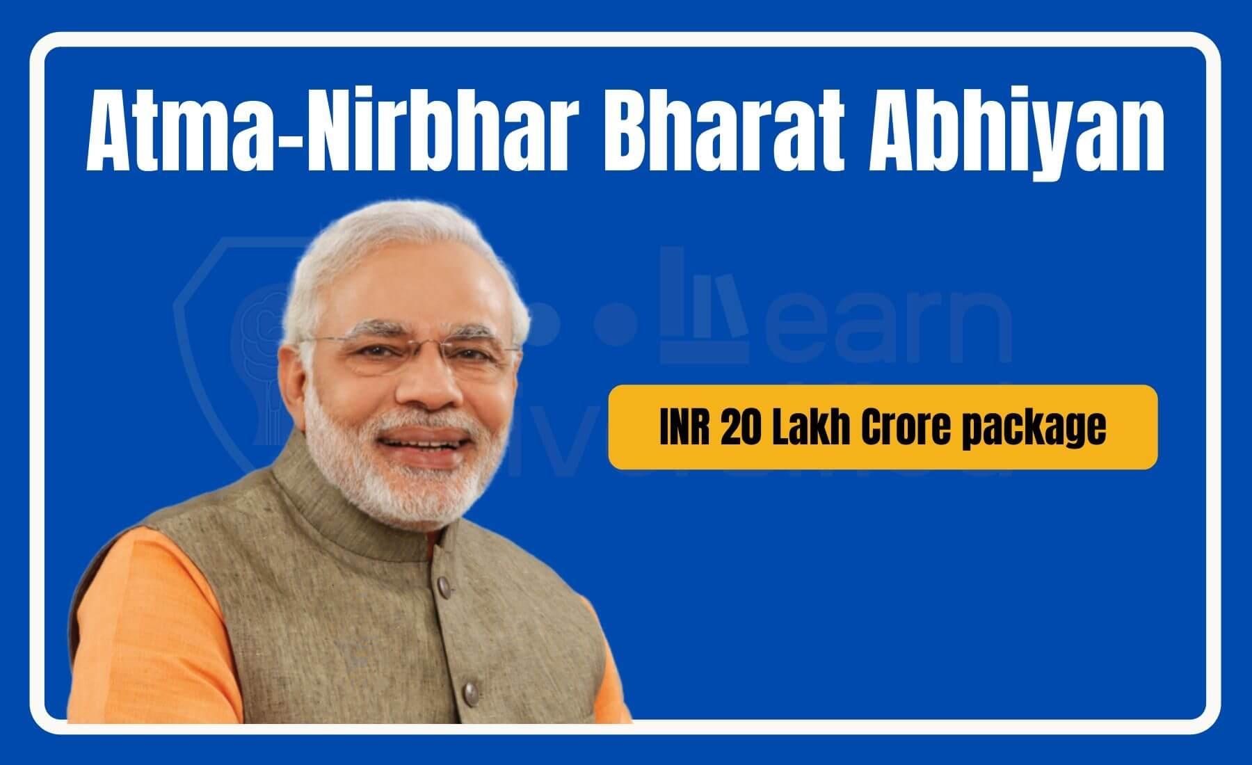 Atma-Nirbhar Bharat package