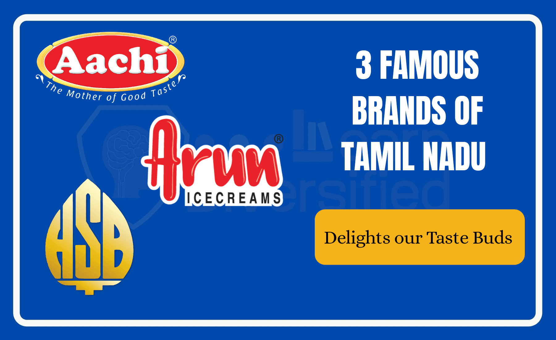 Famous brands of Tamil Nadu