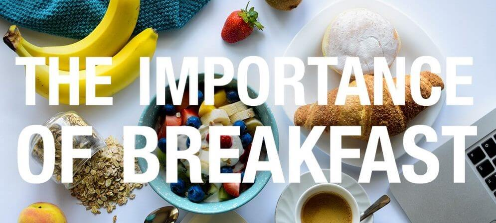The Breakfast 101s - Importance and healthy breakfast tips.