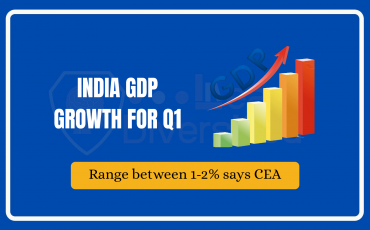 Chief Economic Advisor predicts GDP growth for India to range between in 1-2% in Q1