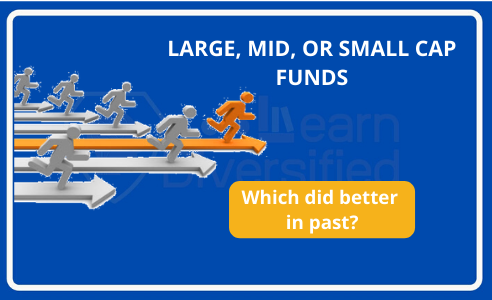 Large, mid, small cap fund performance