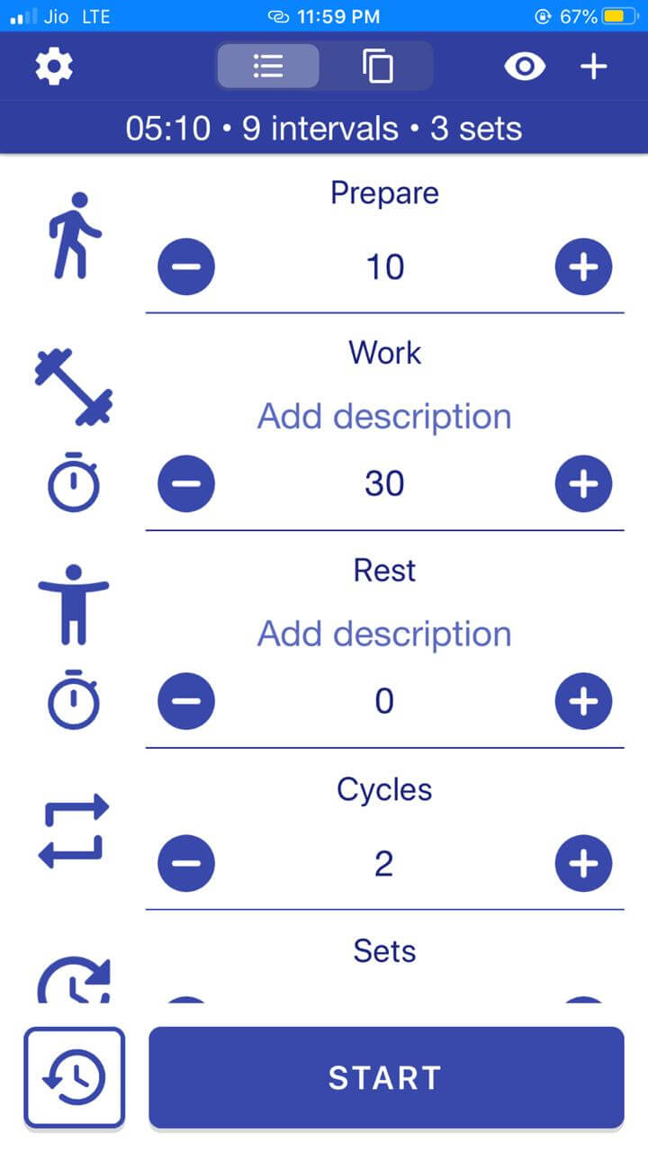 The only workout timer app you need to achieve your fitness goals in 30 days.