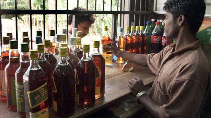 40 days of liquor thirst makes liquor consumers chuck social distancing at liquor shops