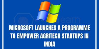 agritech startup