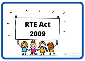 RTE Act 2009 - Right to education | Learn to transform