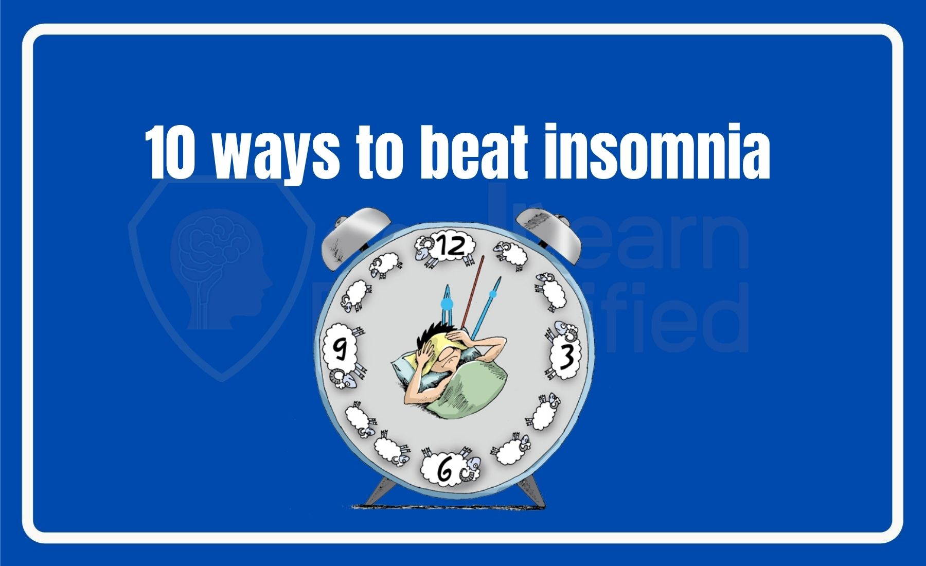 10 ways to beat insomnia