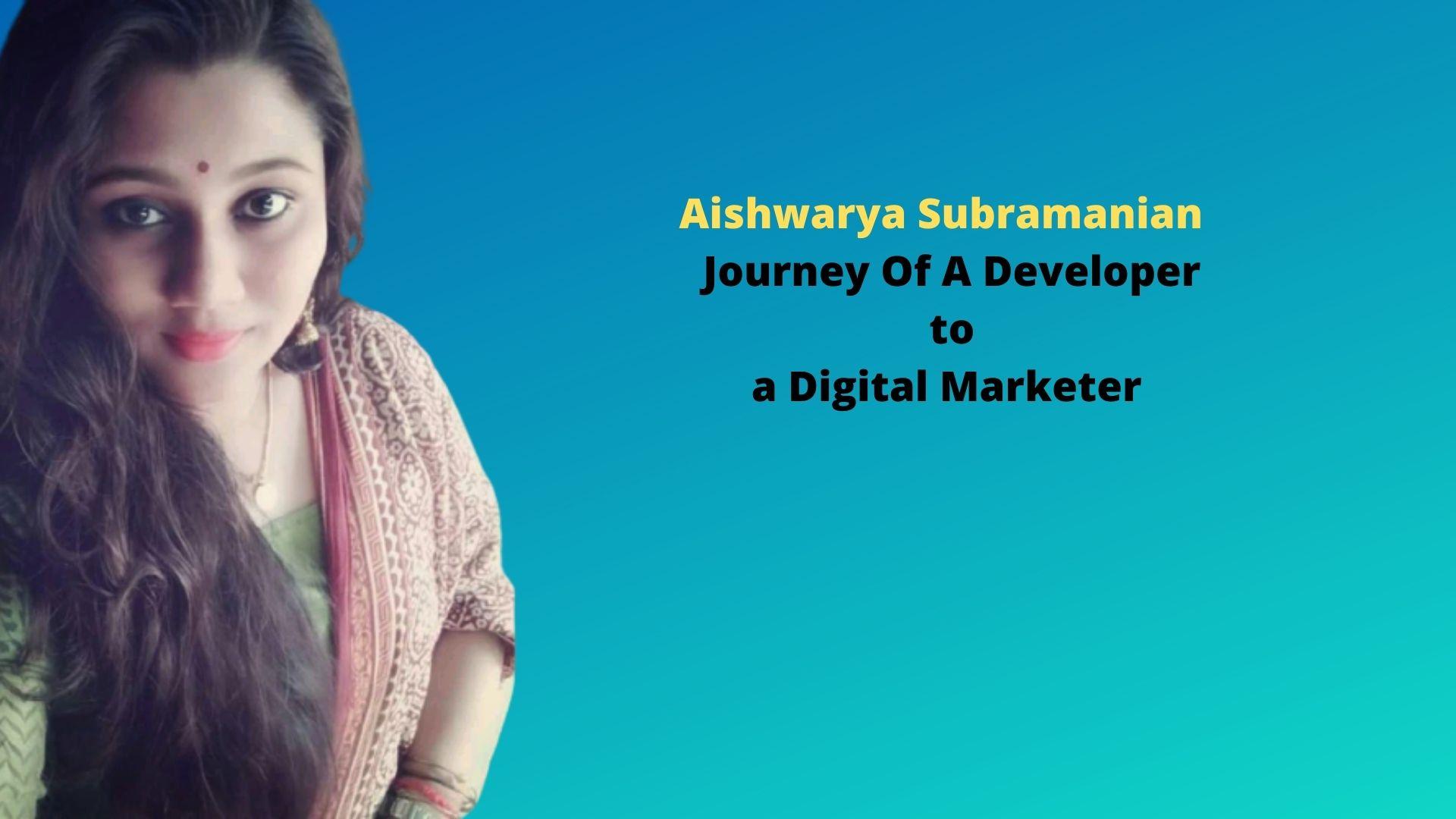 Journey Of A Developer to a Digital Marketer